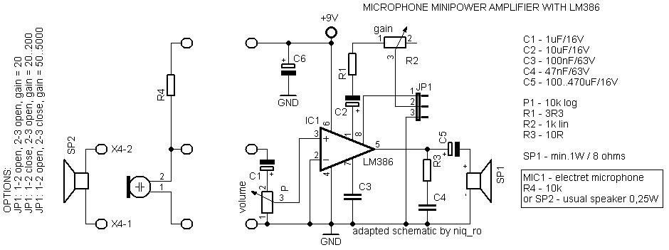 mini audio amplifier with lm386  u2013  u0026quot arduino tehniq u0026quot